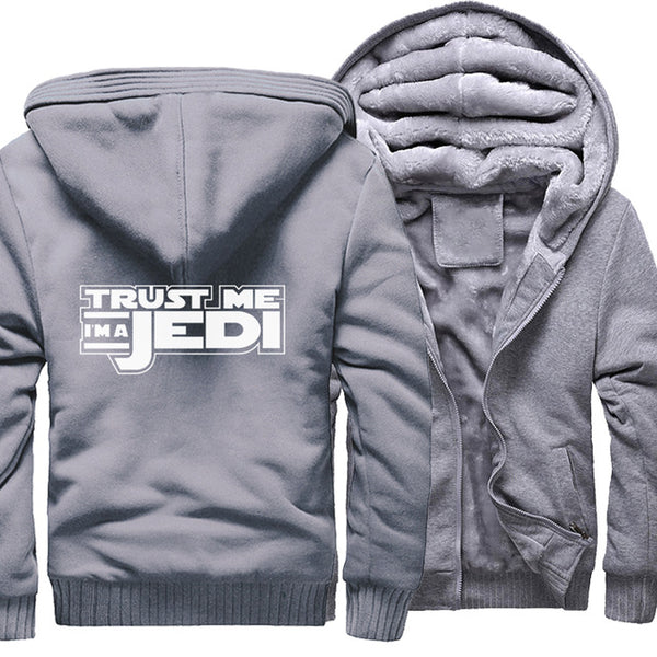 update alt-text with template Star Wars Jedi Hoodie Fleece Jacket - 40% OFF +XTRA 20% OFF TODAY ONLY-jacket-Always-Amazing-gray-M-Always-Amazing-Game-of-Thrones-Winter-Is-Coming-April-2019