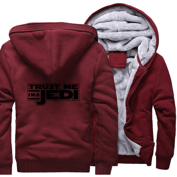 update alt-text with template Star Wars Jedi Hoodie Fleece Jacket - 40% OFF +XTRA 20% OFF TODAY ONLY-jacket-Always-Amazing-wine red 1-M-Always-Amazing-Game-of-Thrones-Winter-Is-Coming-April-2019