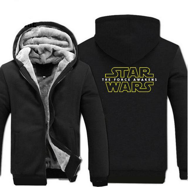update alt-text with template Star Wars Hoodie Fleece Jacket - 40% OFF +XTRA 20% OFF TODAY ONLY-jacket-Always-Amazing-black-M-Always-Amazing-Game-of-Thrones-Winter-Is-Coming-April-2019