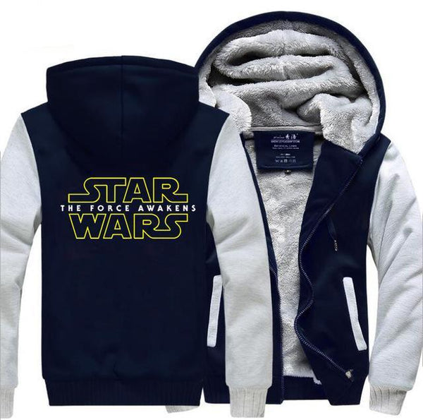 update alt-text with template Star Wars Hoodie Fleece Jacket - 40% OFF +XTRA 20% OFF TODAY ONLY-jacket-Always-Amazing-gray dark blue-M-Always-Amazing-Game-of-Thrones-Winter-Is-Coming-April-2019