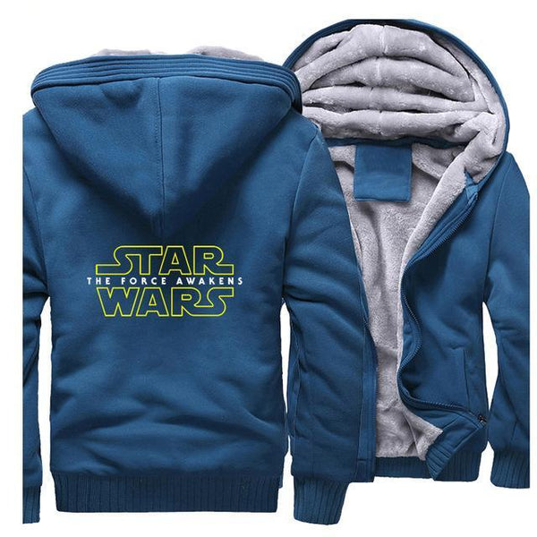 update alt-text with template Star Wars Hoodie Fleece Jacket - 40% OFF +XTRA 20% OFF TODAY ONLY-jacket-Always-Amazing-lake blue-M-Always-Amazing-Game-of-Thrones-Winter-Is-Coming-April-2019