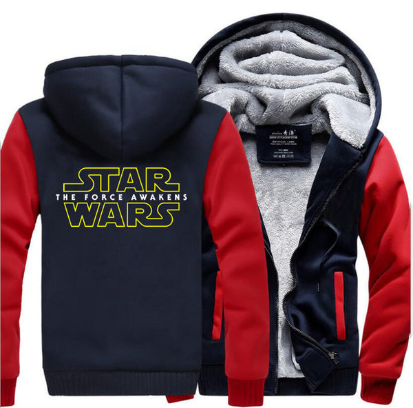 update alt-text with template Star Wars Hoodie Fleece Jacket - 40% OFF +XTRA 20% OFF TODAY ONLY-jacket-Always-Amazing-red dark blue-M-Always-Amazing-Game-of-Thrones-Winter-Is-Coming-April-2019