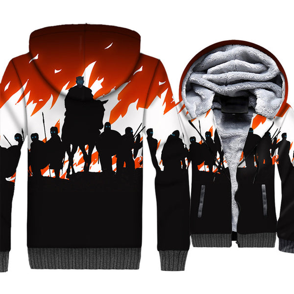 update alt-text with template **NEW for 2019** - EXCLUSIVE 3D White Walkers are coming! The Night King Thrones Hoodie Fleece Jacket - 40% OFF +XTRA 30% OFF TODAY ONLY-jacket-Always-Amazing-White Walkers-M-Always-Amazing-Game-of-Thrones-Winter-Is-Coming-April-2019