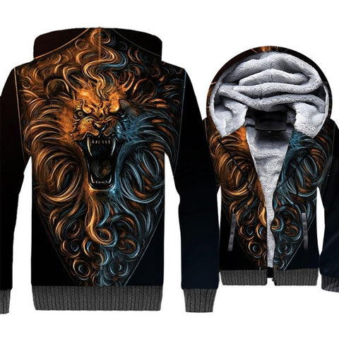 update alt-text with template **NEW for 2019** - EXCLUSIVE 3D Lannister Hear Me Roar! Thrones Hoodie Fleece Jacket - 40% OFF +XTRA 30% OFF TODAY ONLY-jacket-Always-Amazing-JR3-168-LK-M-Always-Amazing-Game-of-Thrones-Winter-Is-Coming-April-2019