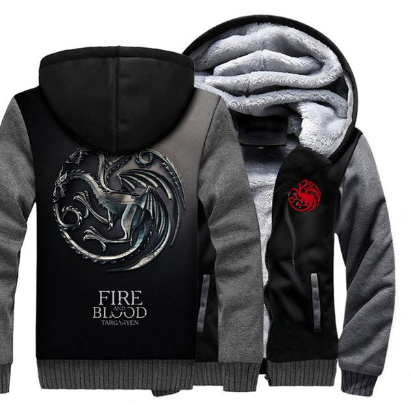 update alt-text with template **NEW** - EXCLUSIVE Choose your favourite Game Of Thrones House Hoodie - 40% OFF +XTRA 30% OFF Limited Time ONLY-jacket-Always-Amazing-TARGARYEN SILVER-M-Always-Amazing-Game-of-Thrones-Winter-Is-Coming-April-2019
