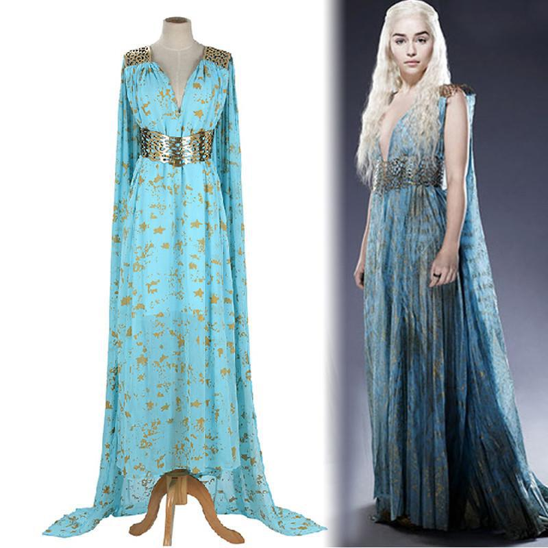 update alt-text with template Get your Halloween's Daenerys Targaryen Elegant Gown - DRAGON FLASH SALE 60% OFF!!-dress-Always Amazing-Always-Amazing-Game-of-Thrones-Winter-Is-Coming-April-2019