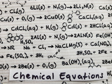 Face Mask - Chemical Equations
