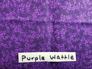 Face Mask - Purple Wattle