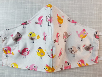 Face Mask - Cute Birdies