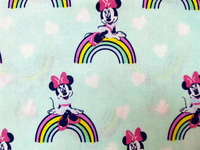 Face Mask - Minnie Mouse - Rainbows