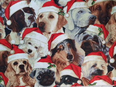 Face Mask - Christmas Dogs