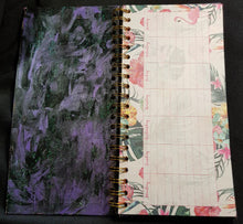 """Butterfly Swirl"" - Spiral Notebook Weekly Organiser"