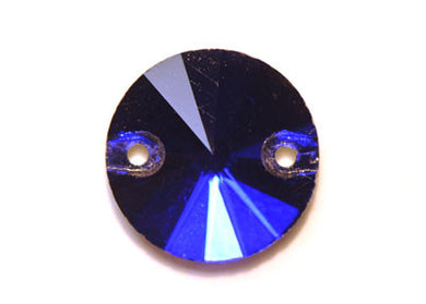 Circle Sew-On 16mm - Sapphire