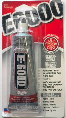 E6000 Clear Adhesive Large - 109ml