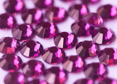 Diamante / Rhinestone - Fuschia