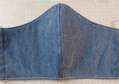 Face Mask - Blue Denim