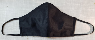 Face Mask - Plain Black