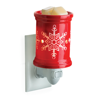 Wax Warmer - Snowflake - Plug-in