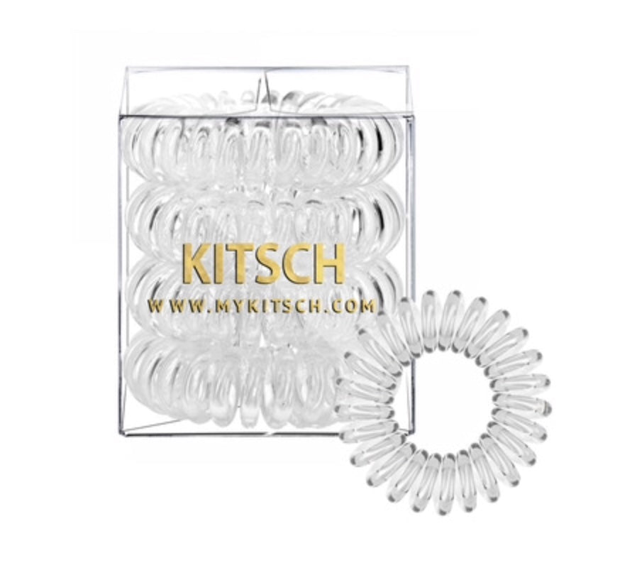 Kitsch Hair Coils - Clear
