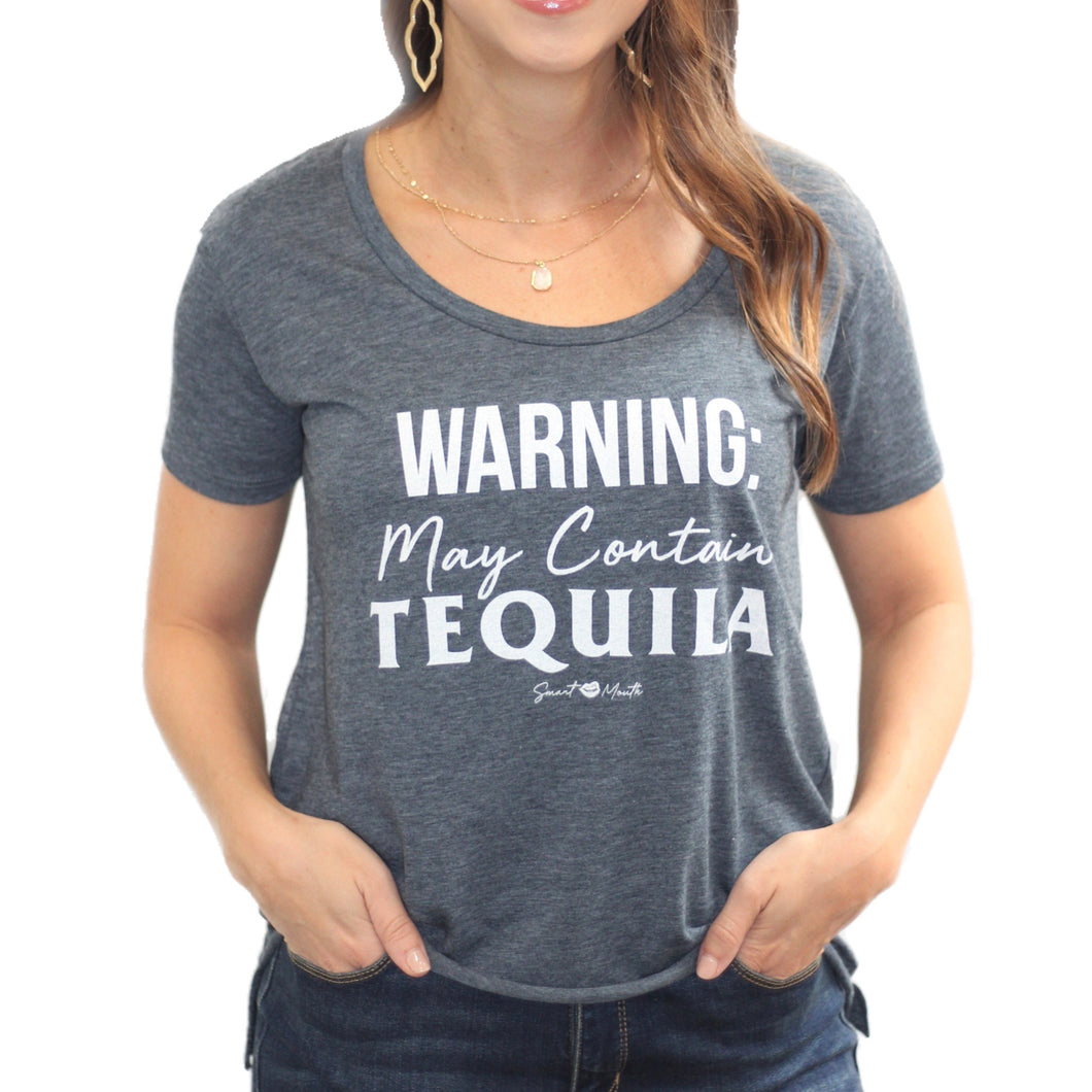 Warning Contain Tequila