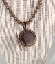 Antique locket choker