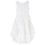 Georgina Embroidered Dress - Ivory