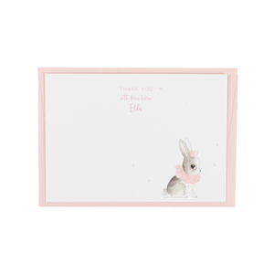 Personalised Belle Rabbit Thank You