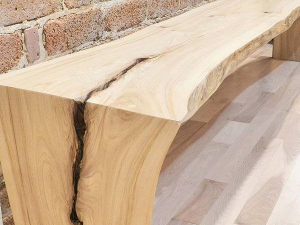 Table et Banc live edge