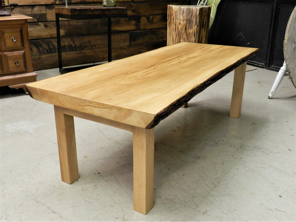 Table de salon Live Edge