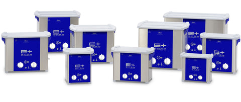 A Collection of Ultrasonic Cleaners