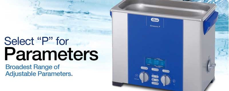 Elmasonic and leadsonic P series ultrasonic cleaners