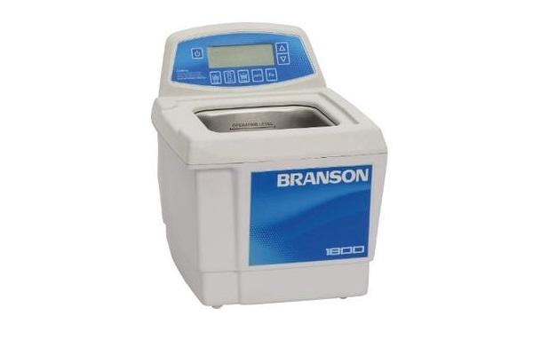 Branson CPX1800H Ultrasonic Cleaner with Digital Timer, Heater & Degas, 0.5 gallon - leadsonics
