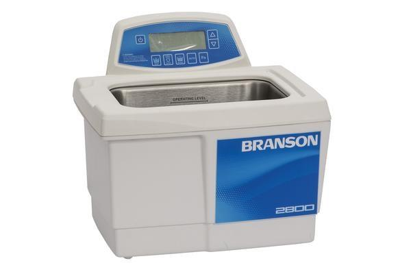 Branson CPX2800H Ultrasonic Cleaner with Digital Timer, Heater & Degas, 0.75 gallon - leadsonics