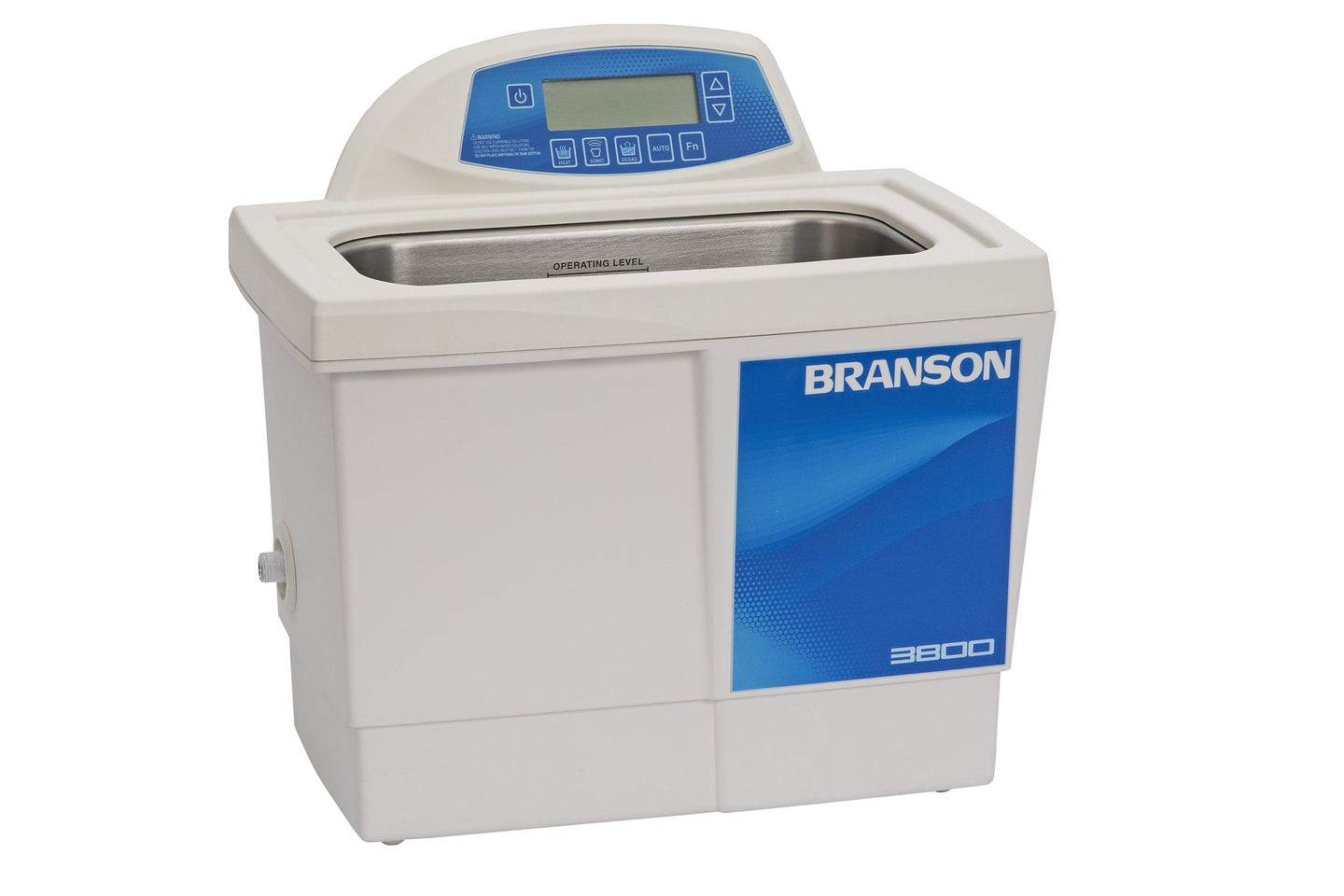 Branson CPX3800H Ultrasonic Cleaner with Digital Timer, Heater & Degas, 1.5 Gallon - leadsonics