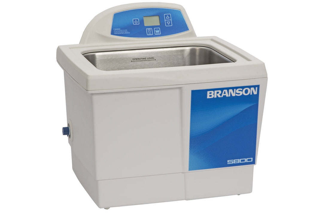 Branson CPX5800 Ultrasonic Cleaner with Digital Timer 2.5 gallon - leadsonics
