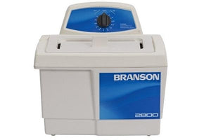Branson M2800 Ultrasonic Cleaner with Mechanical Timer, 0.75 gallon - leadsonics