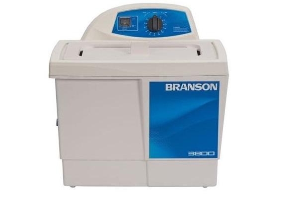 Branson M3800H Ultrasonic Cleaner with Mechanical Timer & Heat, 1.5 Gallon - leadsonics