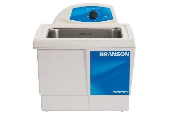 Branson M5800 Ultrasonic Cleaner with Mechanical Timer, 2.5 gallon - leadsonics