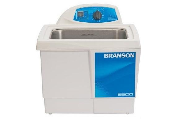Branson M5800H Ultrasonic Cleaner with Mechanical Timer & Heat, 2.5 Gallon - leadsonics