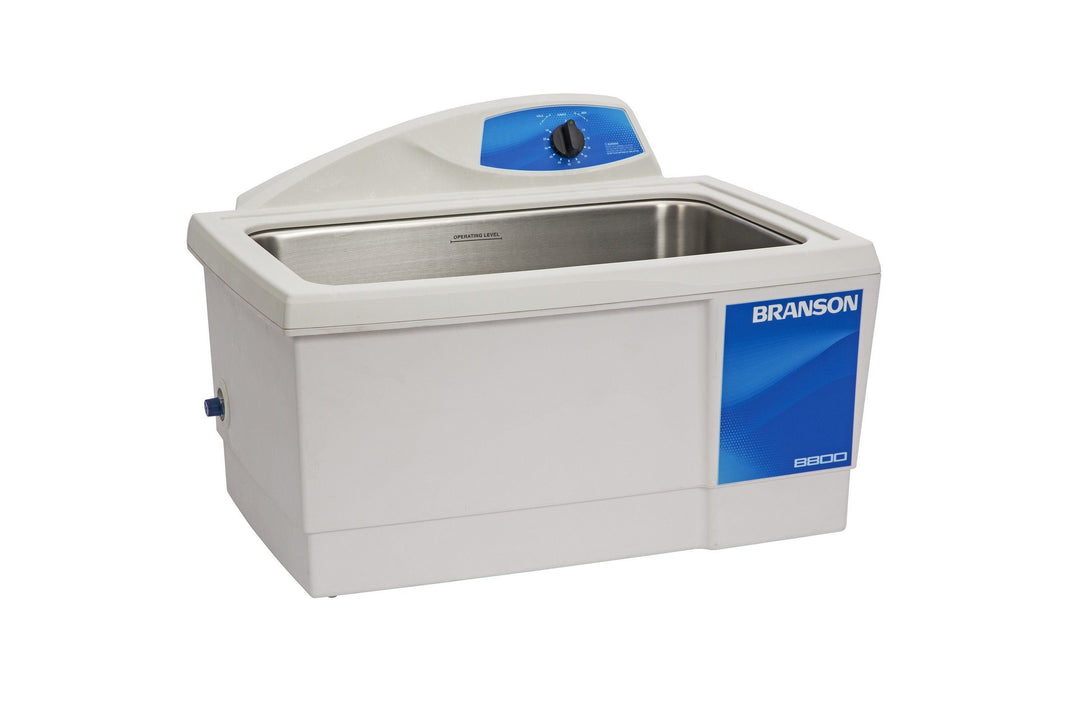 Branson M8800 Ultrasonic Cleaner with Mechanical Timer, 5.5 gallon - leadsonics
