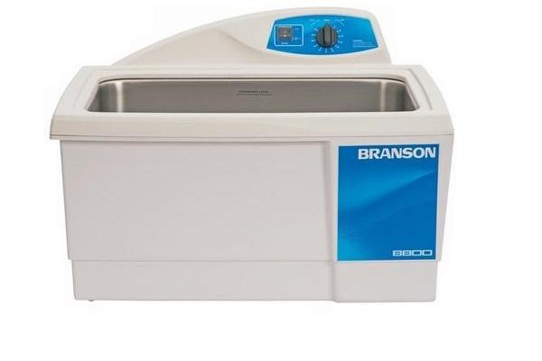 Branson M8800H Ultrasonic Cleaner with Mechanical Timer & Heat, 5.5 Gallon - leadsonics