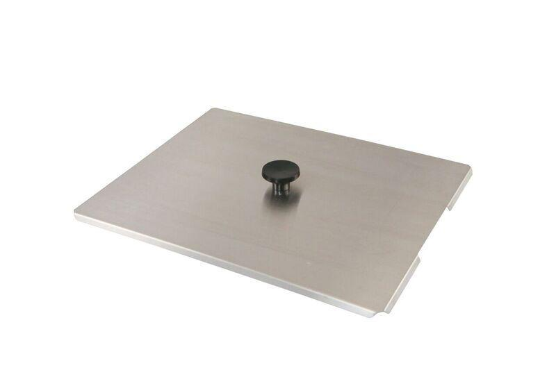 Crest Stainless Steel Lid Cover For P1100 | SSC1100 - leadsonics