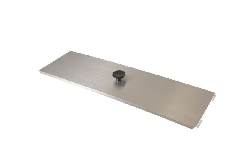 Crest Stainless Steel Lid Cover For P1200 | SSC1200 - leadsonics