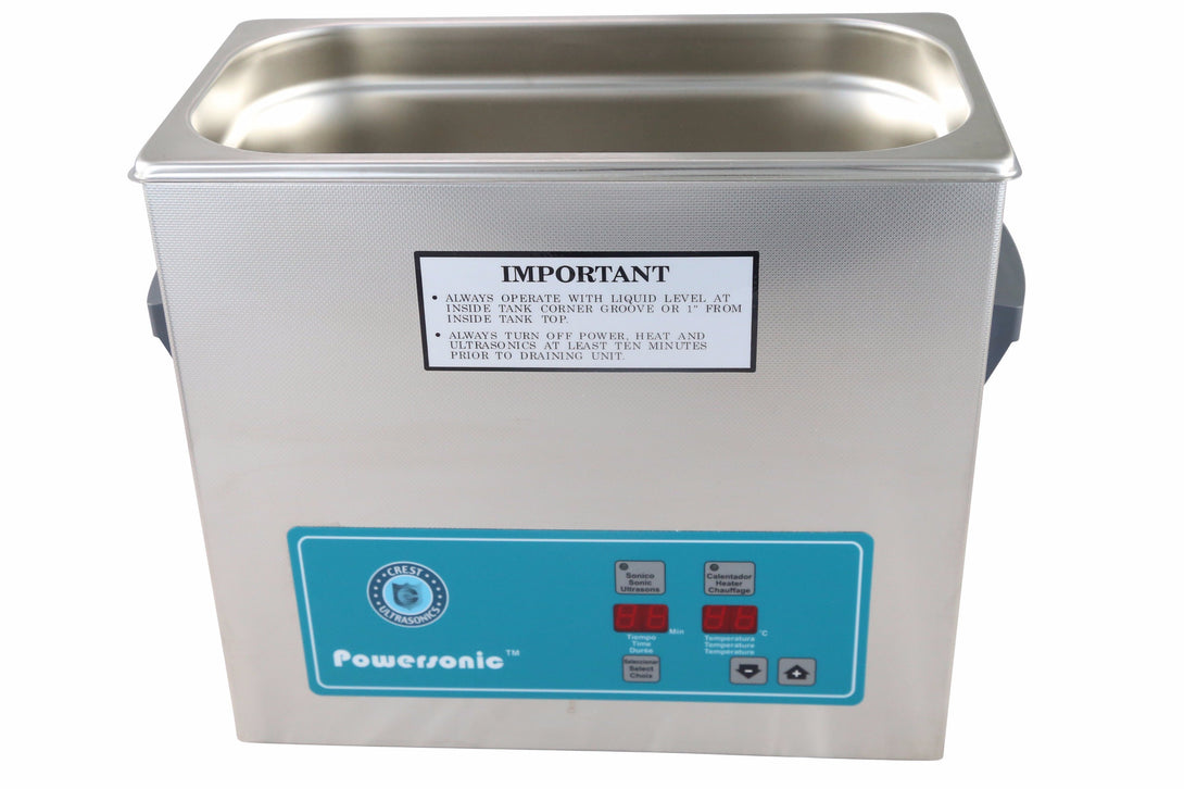 Crest Powersonic P360H 45kHz 1 Gallon Heated Ultrasonic Unit - leadsonics