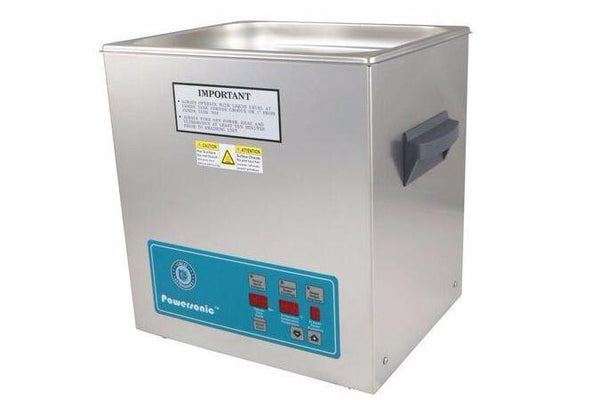 Crest Powersonic P1100D 45kHz 3.25 Gallon Heated Ultrasonic Unit - leadsonics