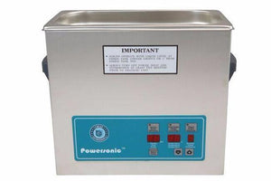 Crest Powersonic P500D 45kHz 1.5 Gallon Heated Ultrasonic Unit - leadsonics