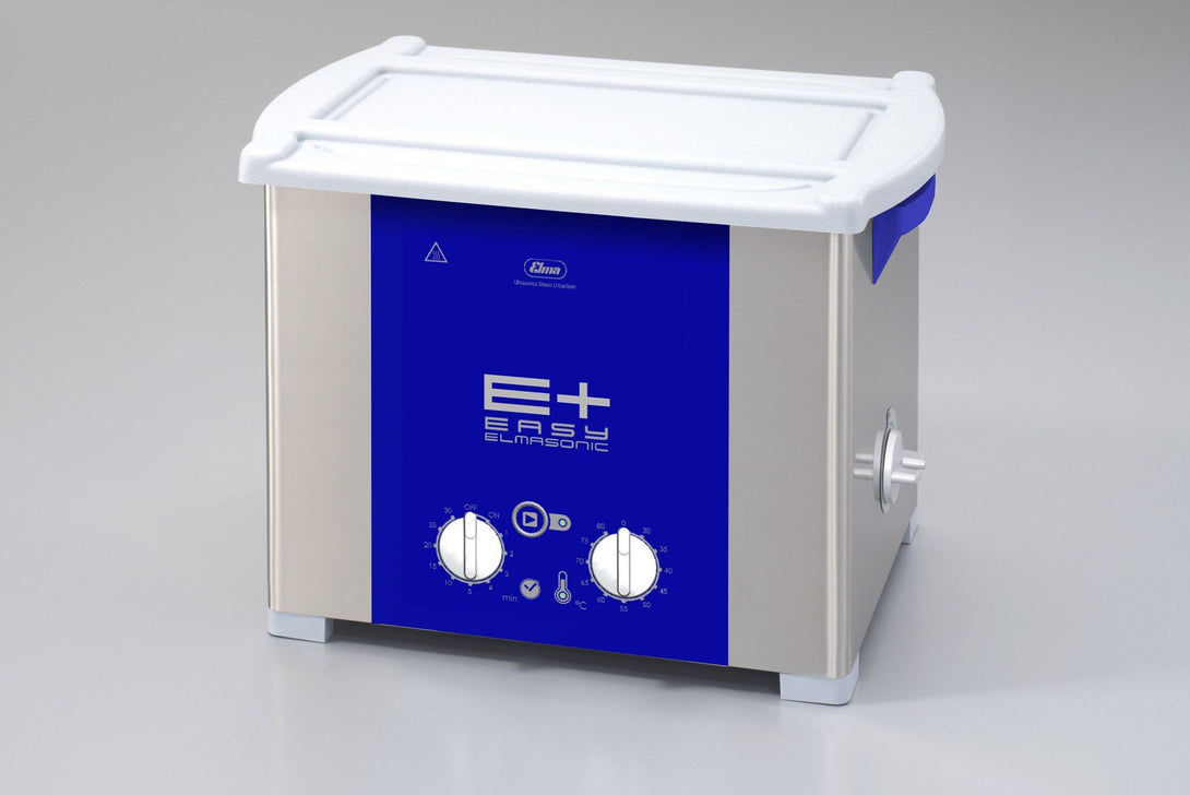 Elmasonic EP100H EPlus-Line | Heated Ultrasonic Cleaner with Pulse & Sweep | 2.5 GAL - leadsonics