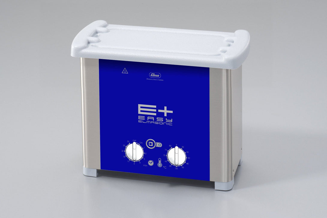 Elmasonic EP10H EPlus-Line | Heated Ultrasonic Cleaner and Basket | 0.25 GAL - leadsonics
