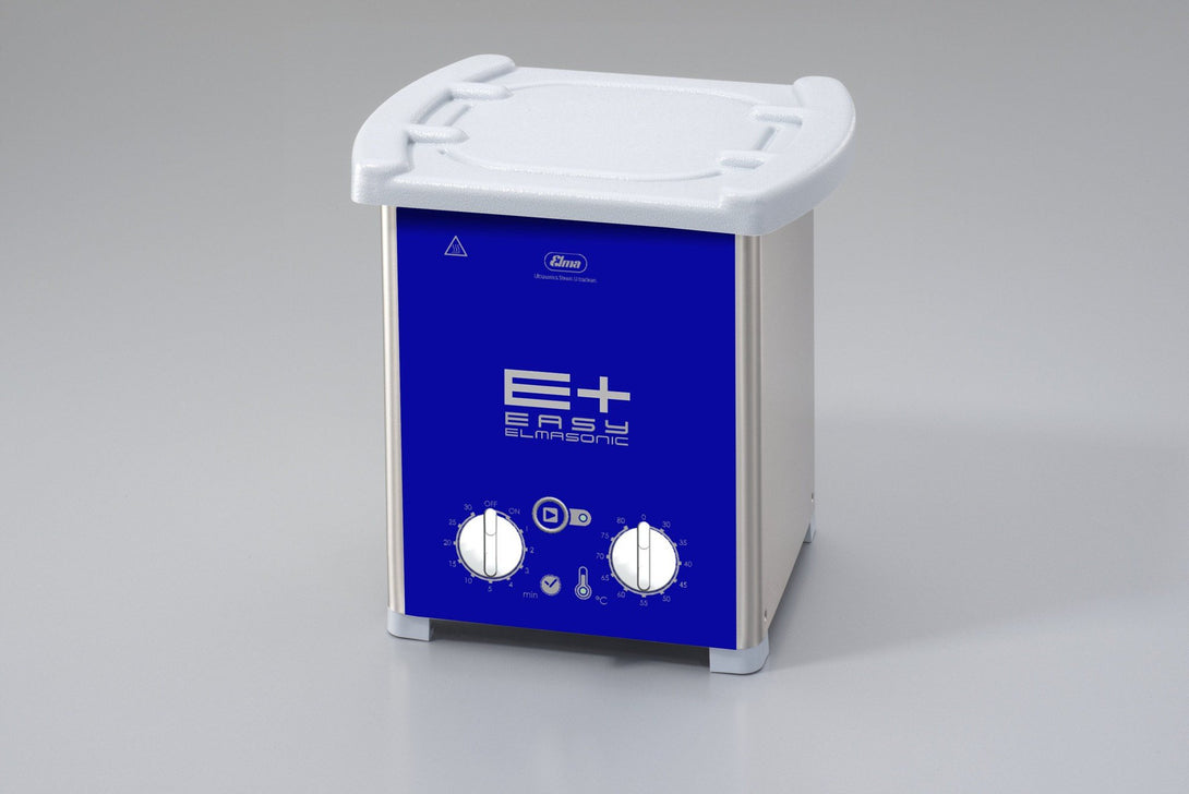 Elmasonic EP20H EPlus-Line | Heated Ultrasonic Cleaner with Pulse & Sweep | 0.50 GAL - leadsonics