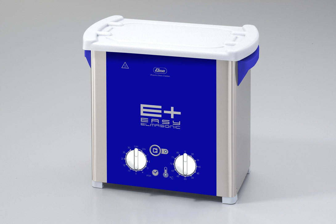 Elmasonic EP40H EPlus-Line | Heated Ultrasonic Cleaner with Pulse & Sweep | 1.0 GAL - leadsonics